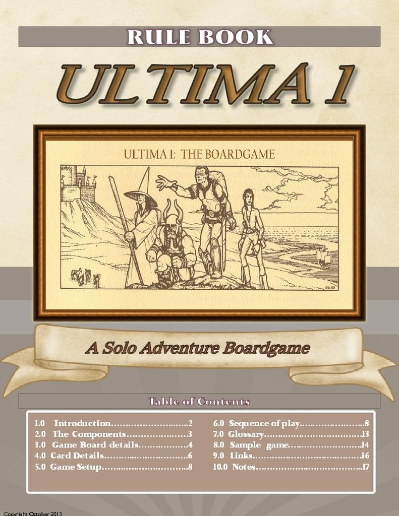 Ultima 1: The Board Game